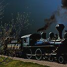 Prairie Dog Central Railway by Teresa Zieba