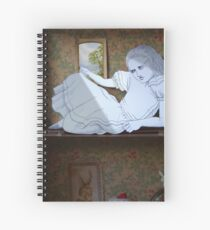 Alice in the white Rabbit's House Spiral Notebook