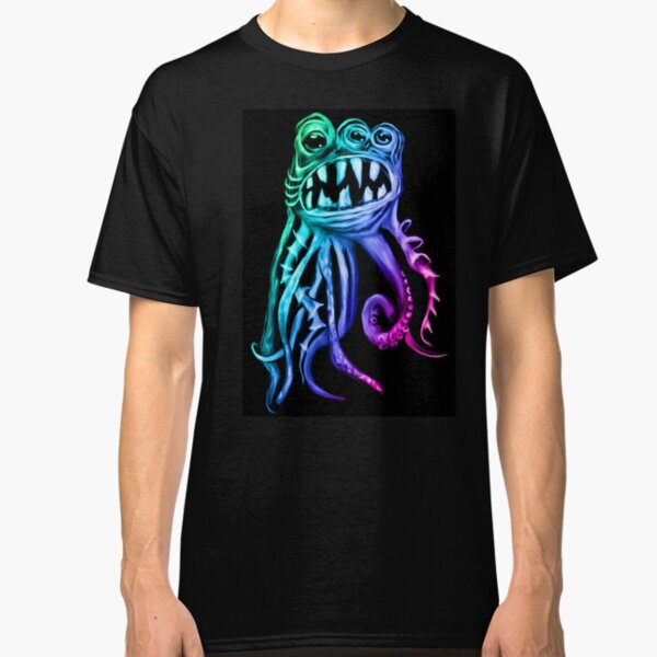 Old Squid Has an Eye on You Classic T-Shirt