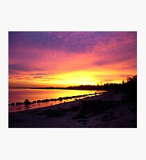 On Golden Bay Photographic Print