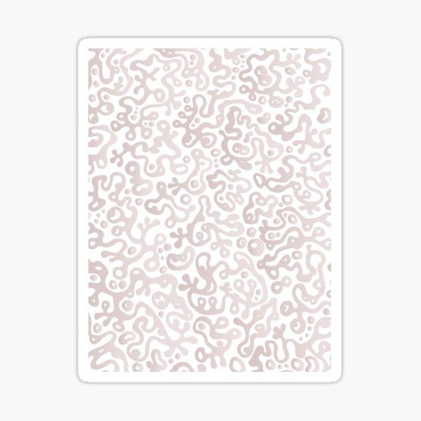 Munch - Pastel Doodle Sticker