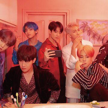 BTS Persona - 2019 Foto grupal del mapa del alma de KpopTokens