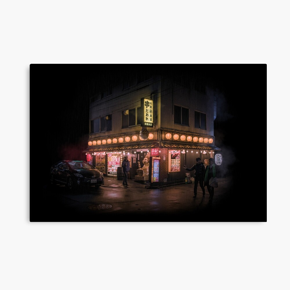 Tokyo Shop in the void Canvas Print