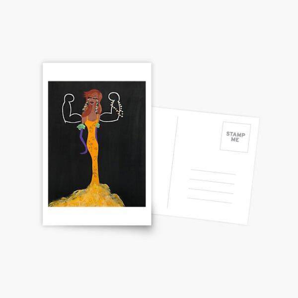 #girlboss Postcard