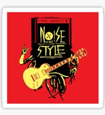 noise music is my style Sticker