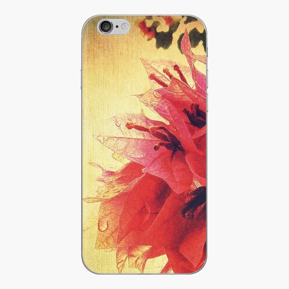 Sunset Bougainvillea iPhone Skin