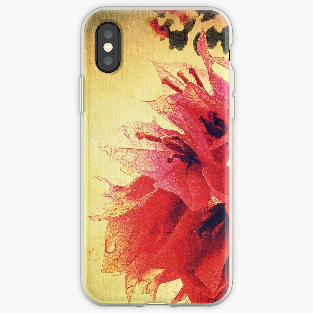 Sunset Bougainvillea iPhone Case & Cover
