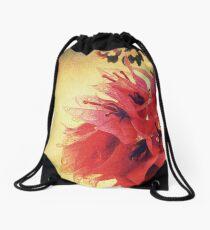Sunset Bougainvillea Drawstring Bag
