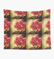 Sunset Bougainvillea Wall Tapestry