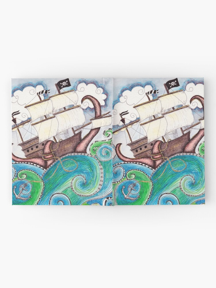 Alternate view of Pirate Peril Hardcover Journal