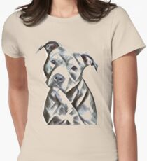 b0765fb0 Pit Bull lover, cute illustration of a pit bull puppy- Adopt don't