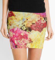 Springtime Bouquet Art Mini Skirt