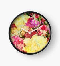 Springtime Bouquet Art Clock