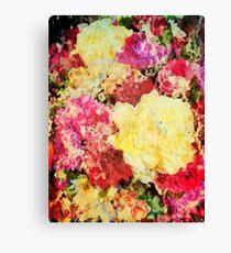Springtime Bouquet Art Canvas Print
