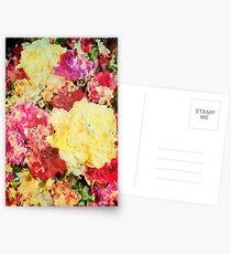 Springtime Bouquet Art Postcards