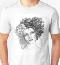 Girl With a Curl T-Shirt