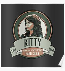 Brownstone Brewery: Kitty Winters Hard Cider Poster