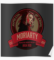 Brownstone Brewery: Jamie Moriarty Irish Red Poster
