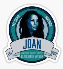 Brownstone Brewery: Joan Watson Blackberry Witbier Sticker