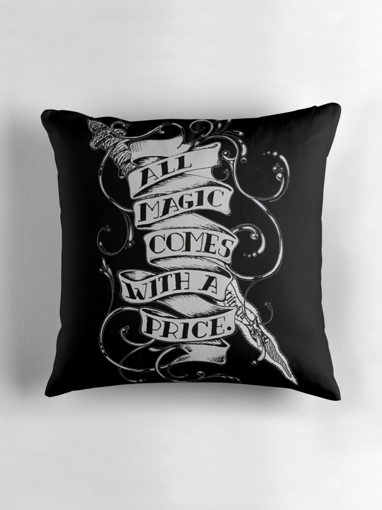 Quot Once Upon A Time Merchandise Quot Throw Pillows By Exotic