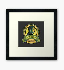 Brownstone Brewery: Sherlock Holmes Honey Lager Framed Print