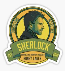 Brownstone Brewery: Sherlock Holmes Honey Lager Sticker
