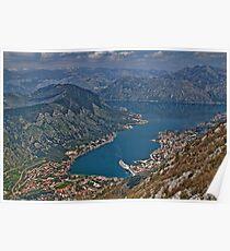 Bay of Kotor, Montenegro Poster