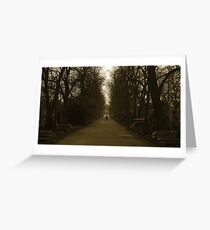 simple twist of fate Greeting Card
