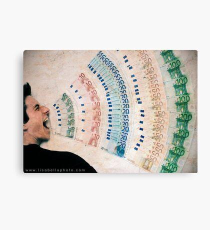 Money Talks Canvas Print