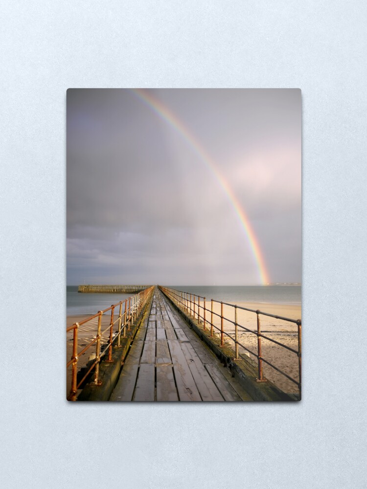 Alternate view of rainbow Metal Print