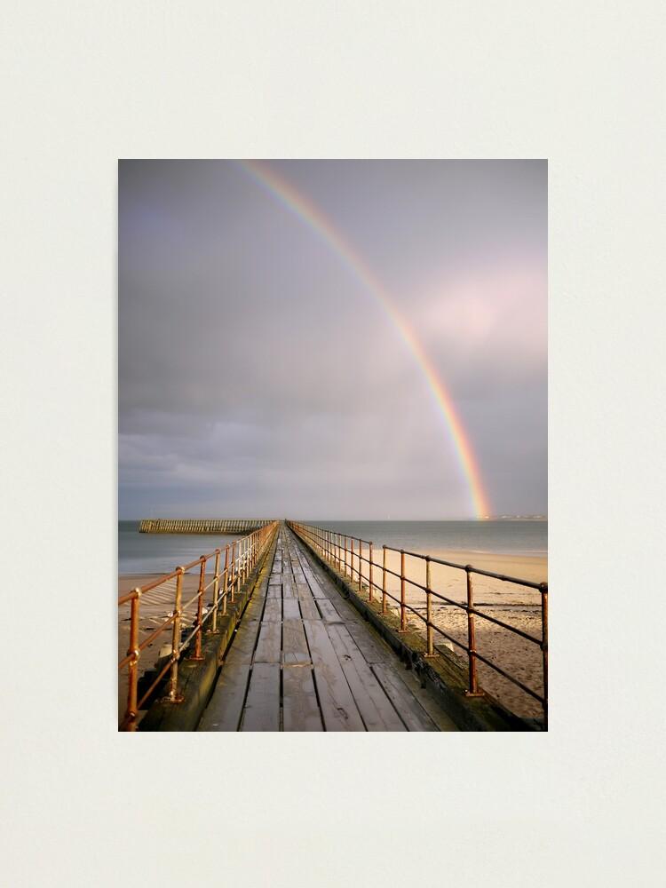 Alternate view of rainbow Photographic Print