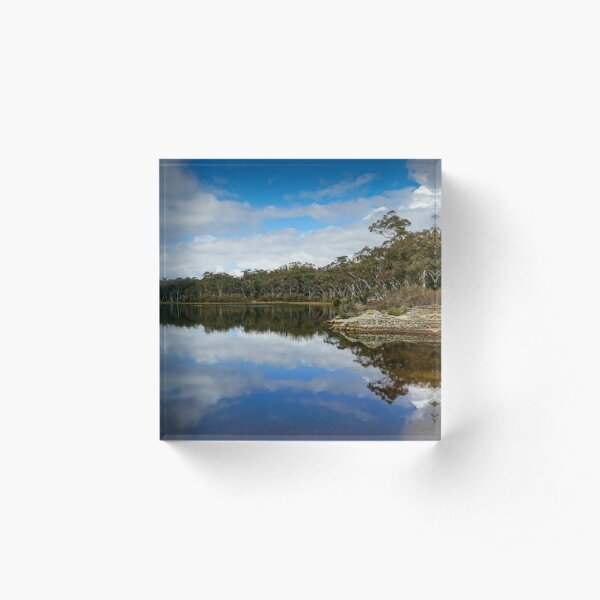 Dunns Swamp, Cudgegong River, Wollemi National Park, NSW Acrylic Block