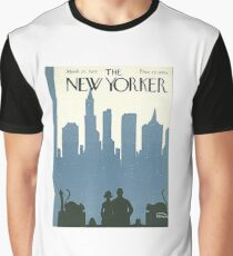 Vintage New Yorker Cover - Circa 1925 Graphic T-Shirt