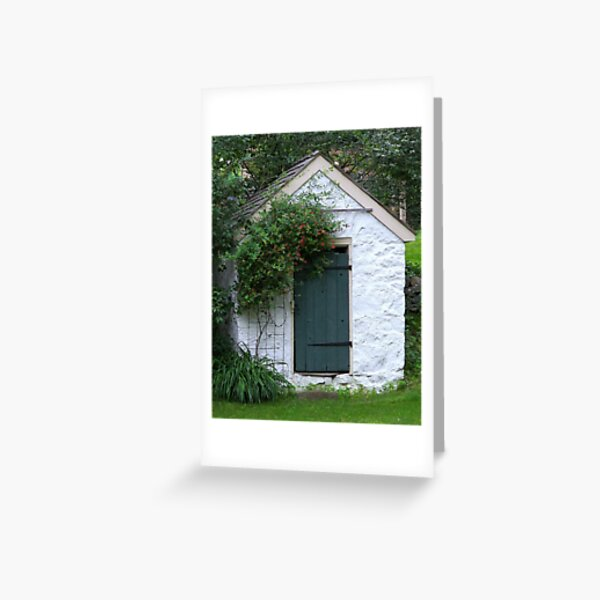 The Spring House Greeting Card