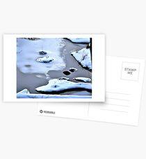 Icy Stream Postcards