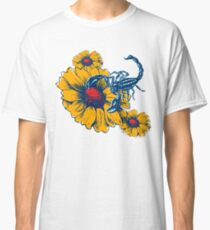Scorpion Flowers Classic T-Shirt