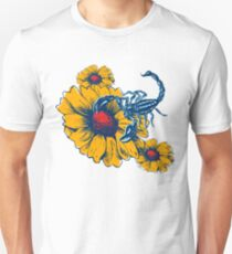 Scorpion Flowers Unisex T-Shirt