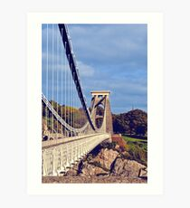 clifton suspension bridge, bristol, england Art Print