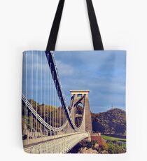 clifton suspension bridge, bristol, england Tote Bag