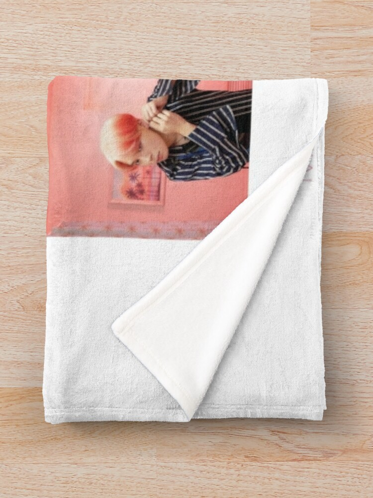 Alternate view of BTS Map Of The Soul:Persona Throw Blanket