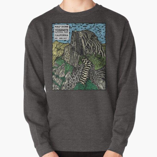 Half Dome Yosemite National Park Established 1890 Pullover Sweatshirt