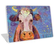 THE COW WITH THE CRUMPLED HORN Laptop Skin