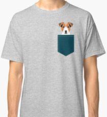Bailey - Jack Russell Terrier phone case art print gift for dog people Jack Russell Terrier owners Classic T-Shirt