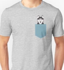 Shiloh - Husky Siberian Husky dog art phone case gifts for dog person T-Shirt