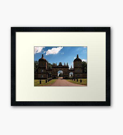 Burghley House - Stamford, England Framed Print