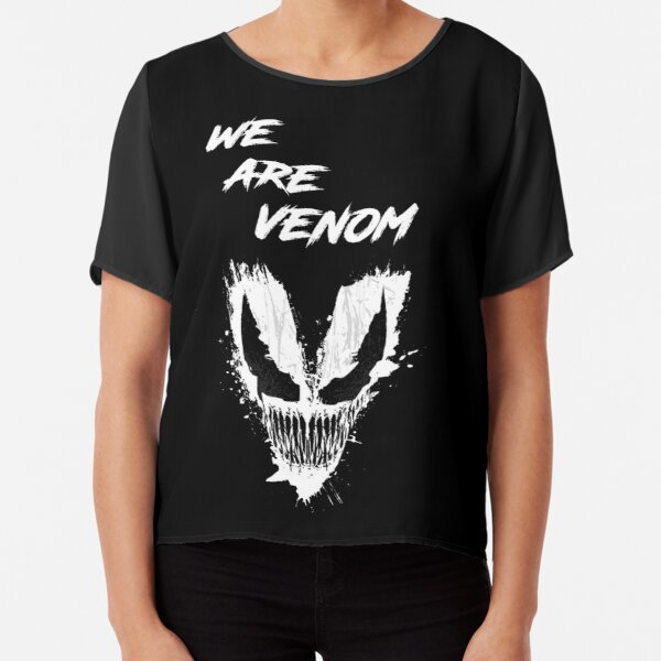 We are Monsters Chiffon Top