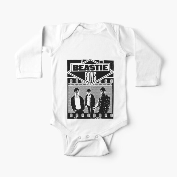 Retro Boys Long Sleeve Baby One-Piece