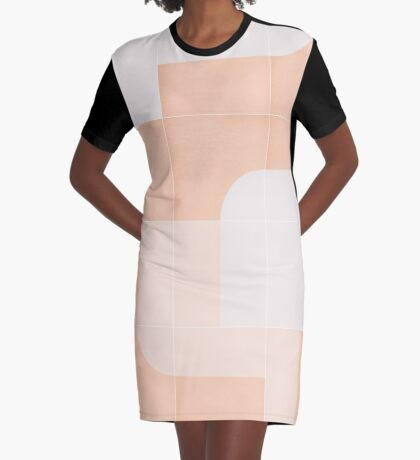 Retro Tiles 04 #redbubble #pattern Graphic T-Shirt Dress