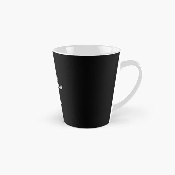 There is no 'i' in team but there is in win.   Michael Jordan Quotes Tall Mug