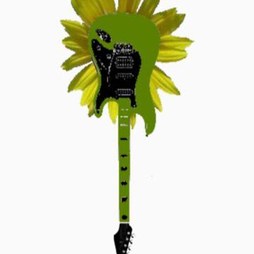 Guitar Flower by fatgoose